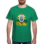 Honduras Coat of Arms (Front) Dark T-Shirt