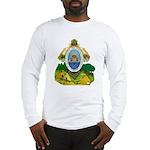 Honduras Coat of Arms (Front) Long Sleeve T-Shirt