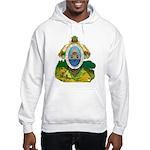 Honduras Coat of Arms (Front) Hooded Sweatshirt