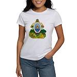 Honduras Coat of Arms (Front) Women's T-Shirt