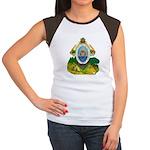 Honduras Coat of Arms Women's Cap Sleeve T-Shirt