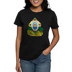 Honduras Coat of Arms (Front) Women's Dark T-Shirt