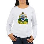 Honduras Coat of Arms Women's Long Sleeve T-Shirt