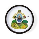 Honduras Coat of Arms Wall Clock