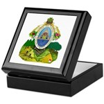 Honduras Coat of Arms Keepsake Box