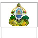 Honduras Coat of Arms Yard Sign