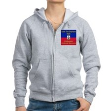 Save The Orphans Zip Hoodie
