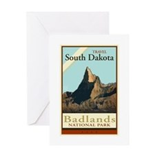 Travel South Dakota Greeting Card