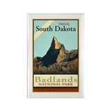 Travel South Dakota Rectangle Magnet