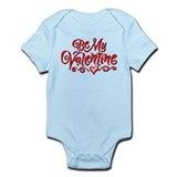 Be My Valentine 1 Onesie