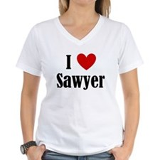 Cute I love sawyer Shirt