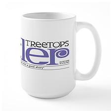 Treetops-Tattler Flag (Cosmo) Large Mug