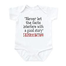 Never Let the Facts... (Roz) Infant Bodysuit