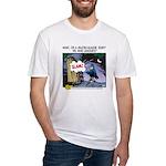 Major League Jerk Fitted T-Shirt