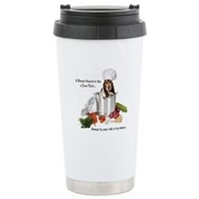 Basset Chef Travel Mug