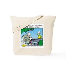 The Gentleman on the Floor Tote Bag