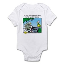The Gentleman on the Floor Infant Bodysuit