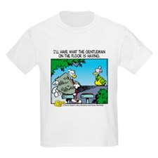 The Gentleman on the Floor Kids Light T-Shirt