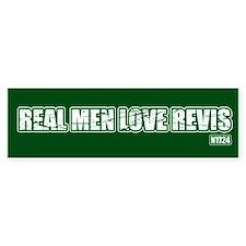 Real nem love revis - Bumper Bumper Sticker