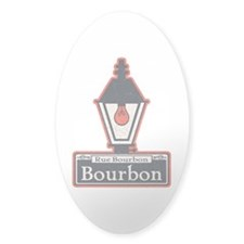 Bourbon St. Sign Decal