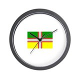 Saguenay-Lac-Saint-Jean Flag Wall Clock