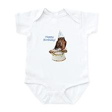 Basset Birthday Infant Bodysuit