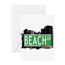 Beach Av, Bronx, NYC Greeting Card