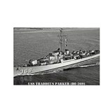 USS THADDEUS PARKER Rectangle Magnet (10 pack)