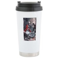 Little Red Riding Hood Ceramic Travel Mug