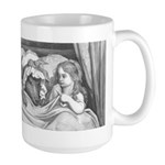 Dore's Red Riding Hood Large Mug