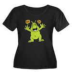 Hug Me, I'm Green! Women's Plus Size Scoop Neck Da