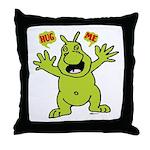Hug Me, I'm Green! Throw Pillow