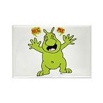 Hug Me, I'm Green! Rectangle Magnet (100 pack)