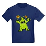 Hug Me, I'm Green! Kids Dark T-Shirt