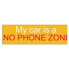 No Phone Zone Bumper Sticker (10 pk)