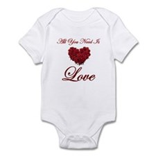 All You Need Is Love Infant Bodysuit