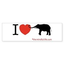 elephant Bumper Bumper Sticker