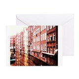 Cute Amsterdam Greeting Card