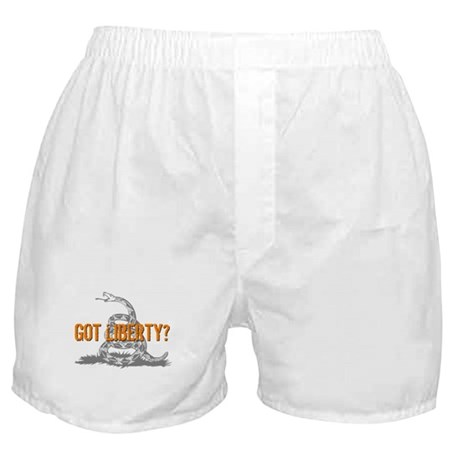 Got Liberty Rattlesnake Boxer Shorts