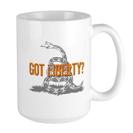 Got Liberty Rattlesnake Large Mug
