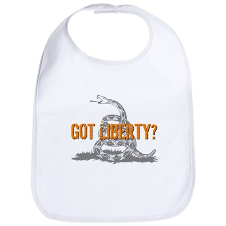 Got Liberty Rattlesnake Bib