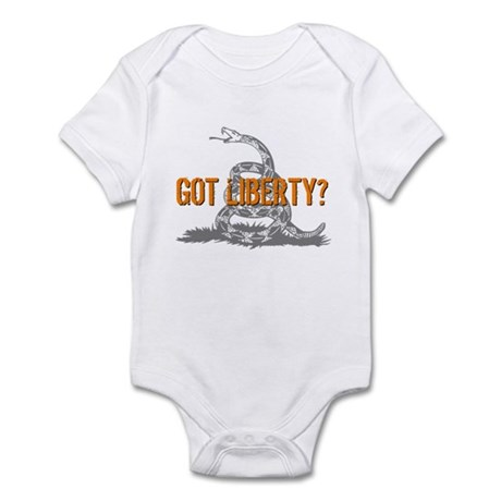 Got Liberty Rattlesnake Infant Bodysuit