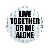 "LOST Live Together 3.5"" Button"
