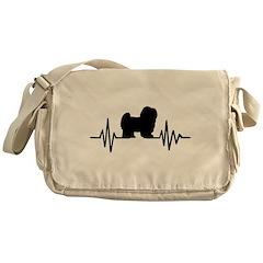 Retro Shamrock Messenger Bag