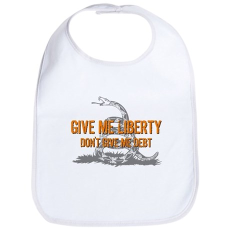 Don't Give Me Debt Bib