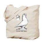 Royal Snow Tumbler Pigeon Tote Bag
