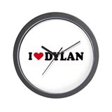 I LOVE DYLAN ~  Wall Clock