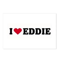 I LOVE EDDY ~  Postcards (Package of 8)