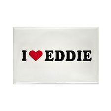 I LOVE EDDY ~ Rectangle Magnet (10 pack)