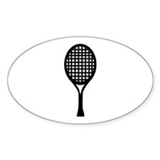 Tennis Oval Sticker (10 pk)